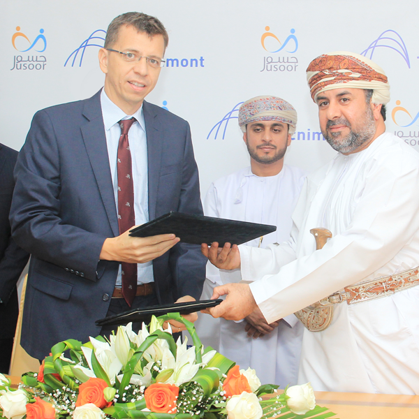 Oman, Tecnimont Steps Up In-Country Value signing an agreement with the non-profit organization Jusoor